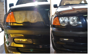 Headlight Restoration -Tri City Car Wash